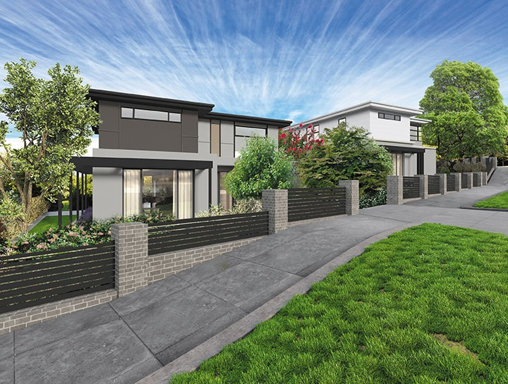 Townhouse builders melbourne geelong gentrify for Duplex home builders